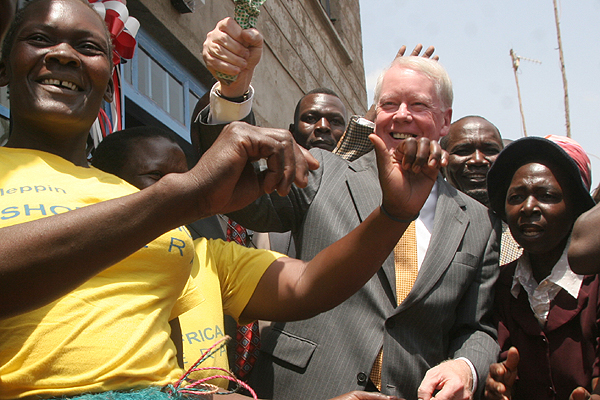Amb. Ranneberger in Kenya