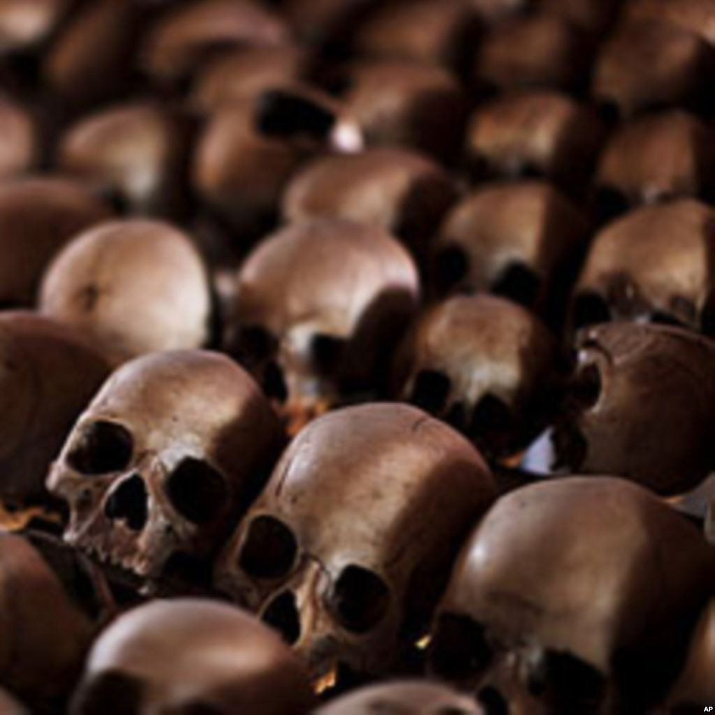 Skulls of Rwandan Victims