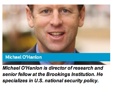 Michael O'Hanlon, security and defence specialist