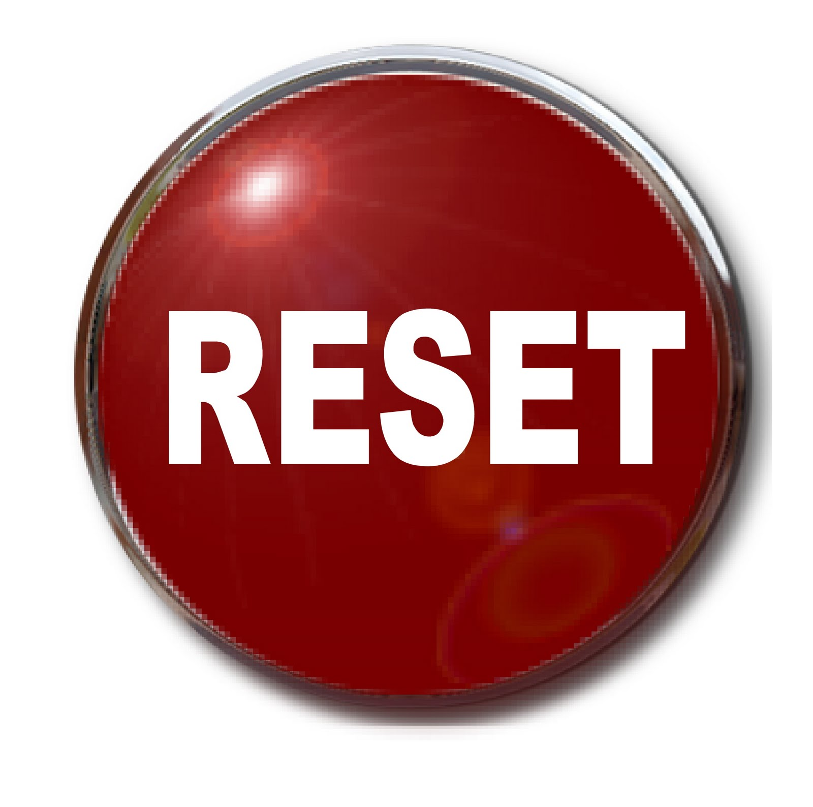 Pushing Reset Button