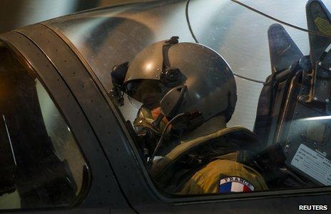 France Rafale jets target Gao