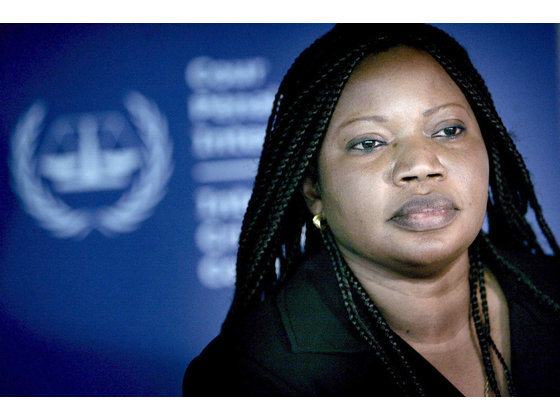 Fatou B. Bensouda : International Criminal Court Chief Prosecutor at The Hague in Geneva, Switzerland. Image- ICC