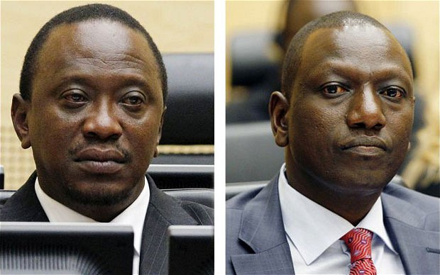 PUhuru Kenyatta and William Ruto