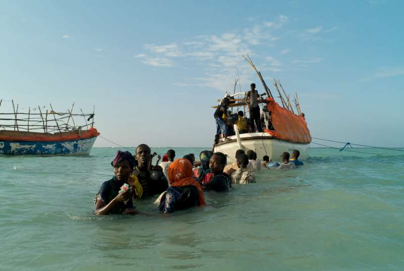 A boat carrying hundreds of migrants from Libya sank on the way to Lampedusa, an island located off the coast of Italy.