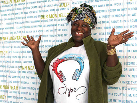 Ofeibea Quist-Arcton, a journalist and broadcaster from Ghana