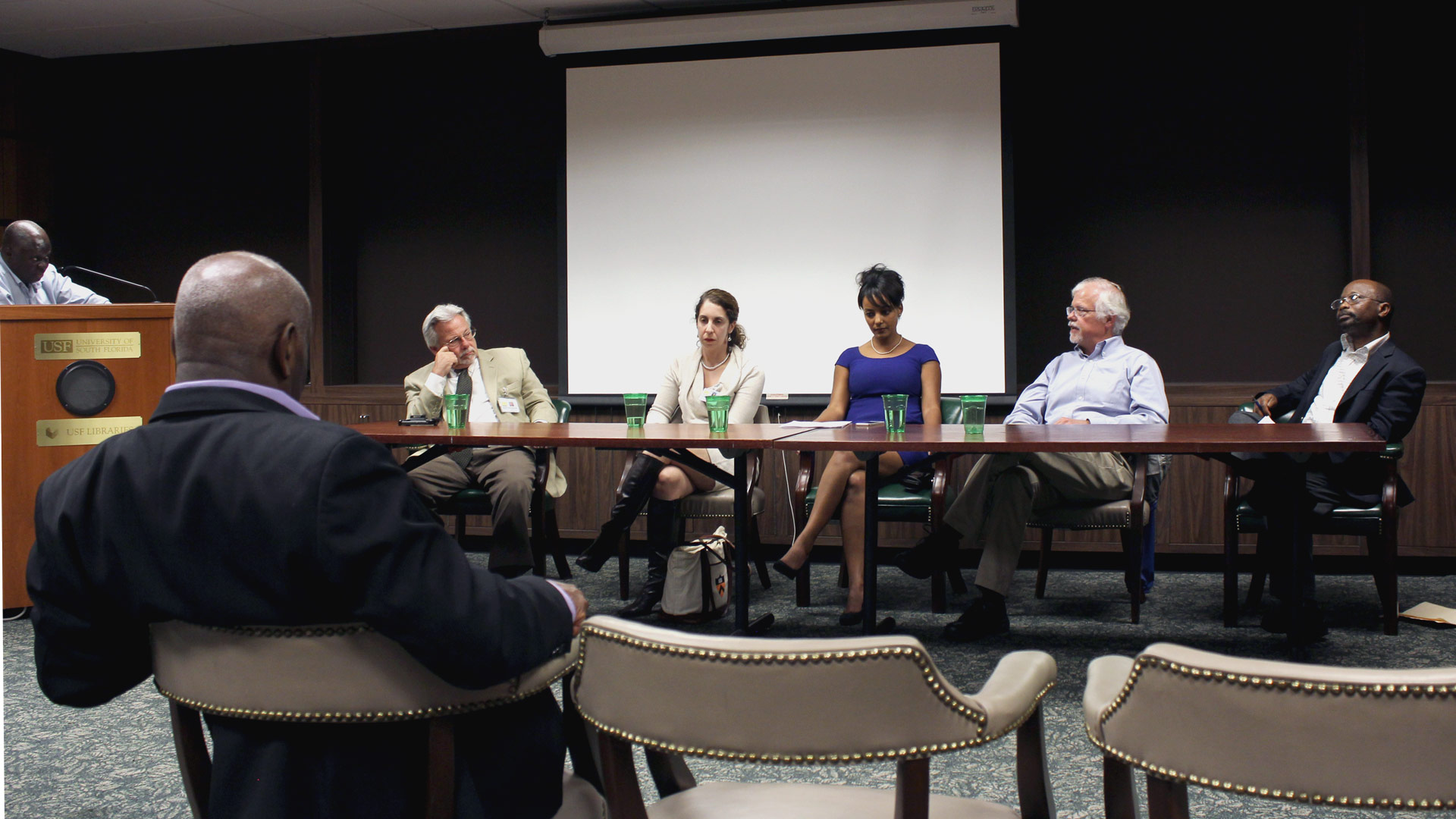 The Ebola Outbreak in West Africa: Panel discussion at the University of South Florida Tampa Library