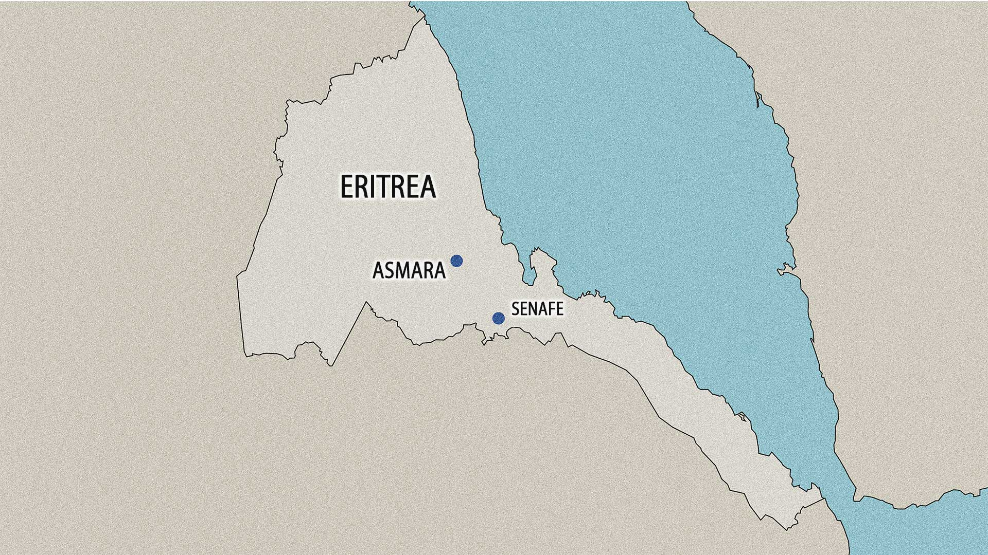 Paul Mahaffy grew up in Senafe, Eritrea.