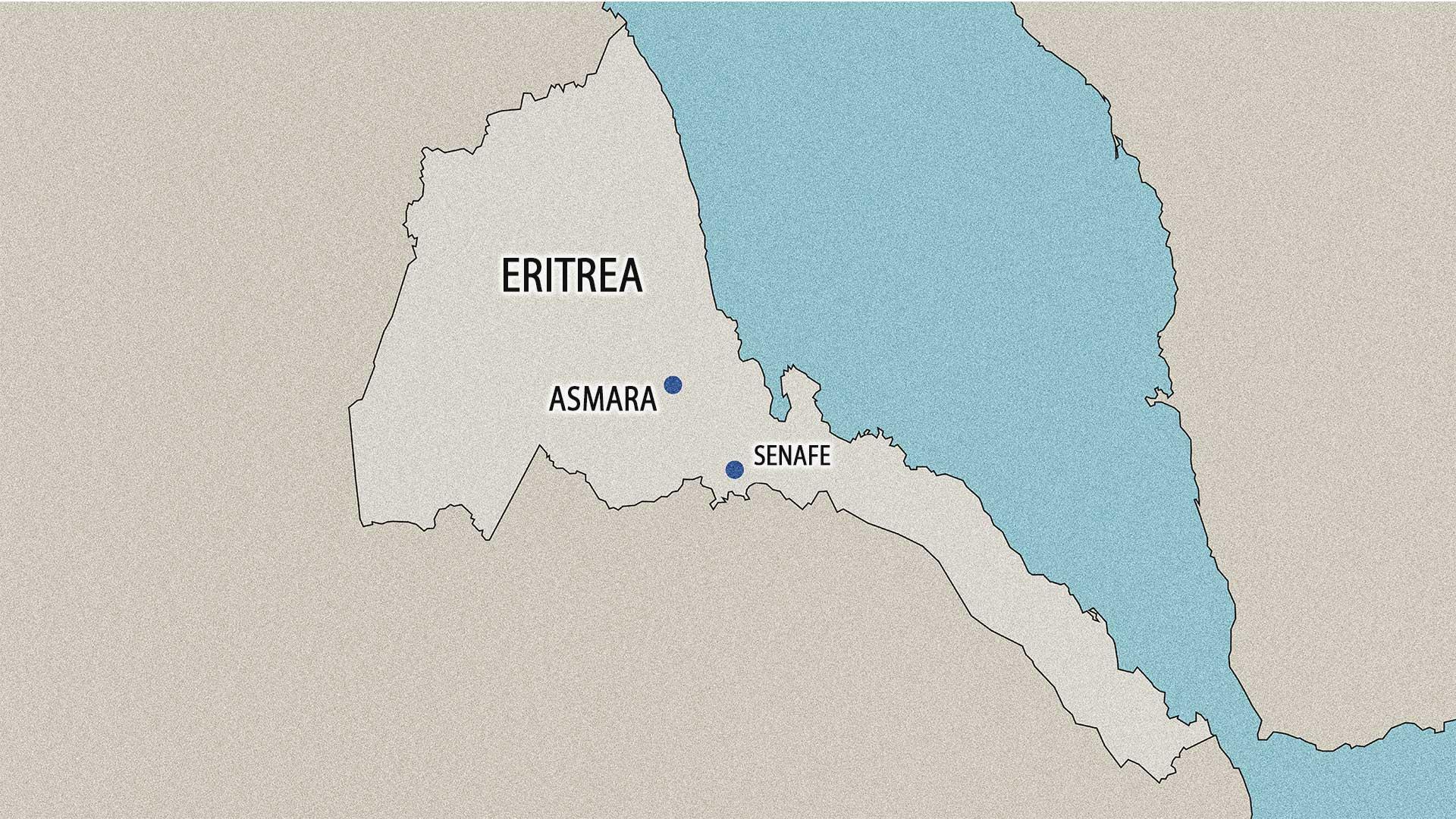 Paul Mahaffy grew up in Senafe, Eritrea.