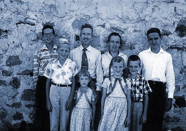 The Mahaffy family. (Courtesy of Peter Mahaffy.)